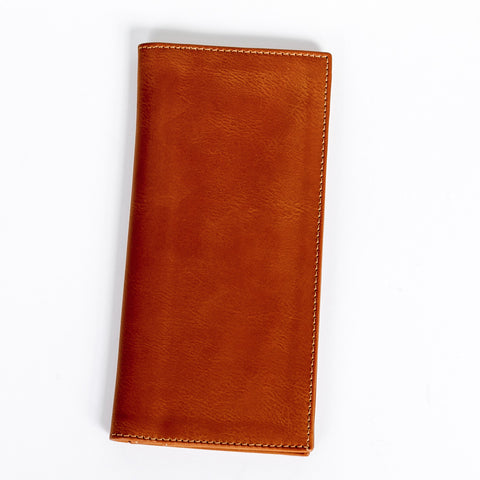 Travel Wallet – Burnt Orange