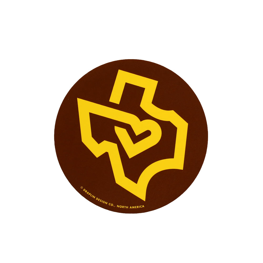 Texas Decal - Brown