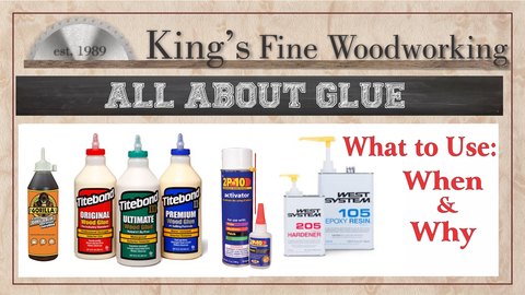 All About Woodworking Glue Information Packet