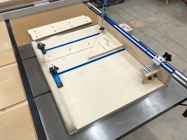 Plans for the Extreme Crosscut Miter Dado Table Saw Sled