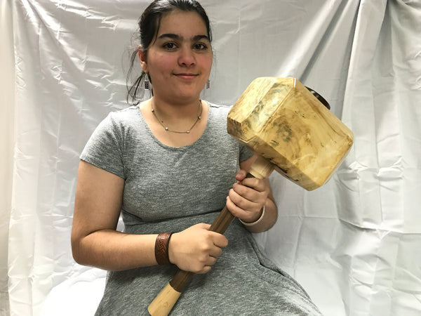 LIFE SIZE Thor's Hammer Mjolnir From Domestic Lumber