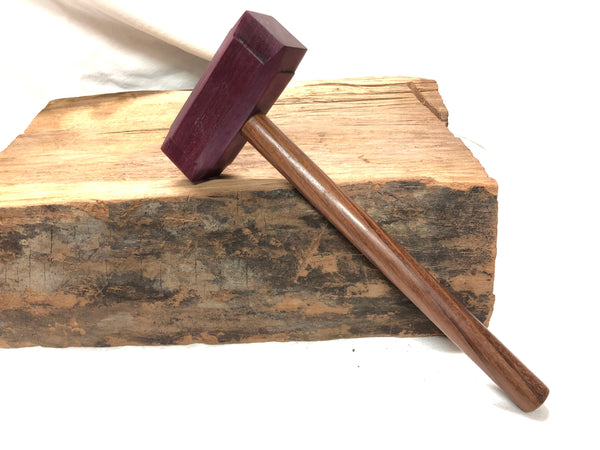 MID SIZE - Thor's Hammer Woodworking Mallet all Exotic Wood