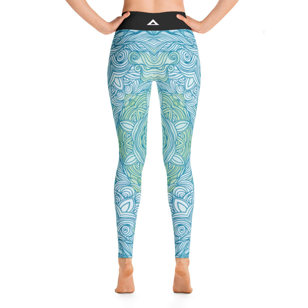 Cerulean Seascape Leggings