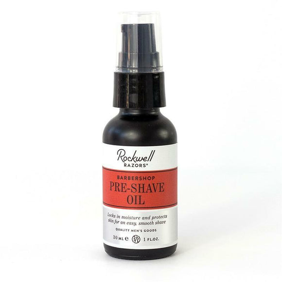 Rockwell Razors Pre-Shave Oil - Barbershop Scent