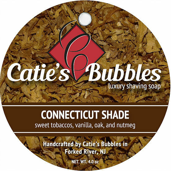 Catie's Bubbles - Connecticut Shade - Luxury Shaving Soap 4oz