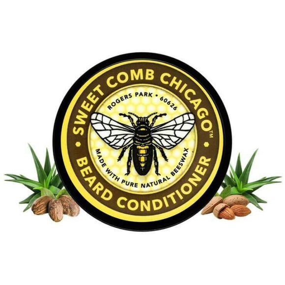 Sweet Comb Chicago All Natural Beeswax Beard Conditioner