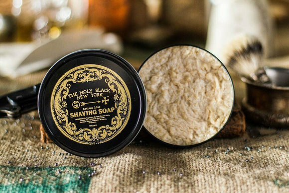 The Holy Black - Artisan Line Shaving Soap 150g