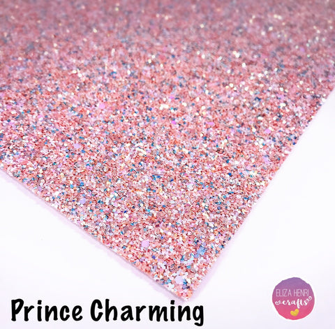 Prince Charming Chunky Glitter Fabric