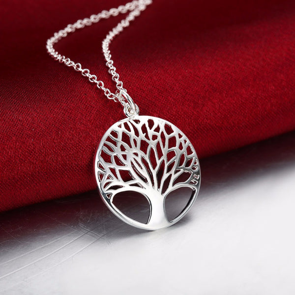 Rose gold Yellow gold Silver Tree Of Life Pendant Necklace *** FREE SHIPPING *** - Delivered Value