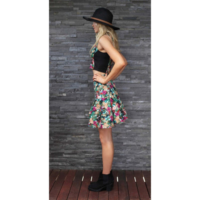 TING-A-LING Flirt Skirt - Jungle Paradise