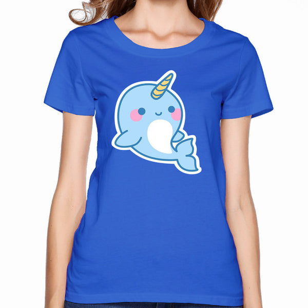 Cute Narwhal T Shirt - CuteFTW