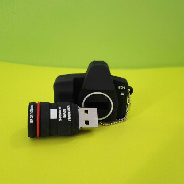 Mini Camera USB Flash Drive with Keychain - CuteFTW