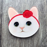 Cute Kitty Pin (1 Piece) - CuteFTW