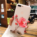 Beautiful Flowers iPhone Soft Silicone Case - CuteFTW