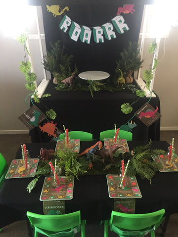 Premium Dinosaur Party Package