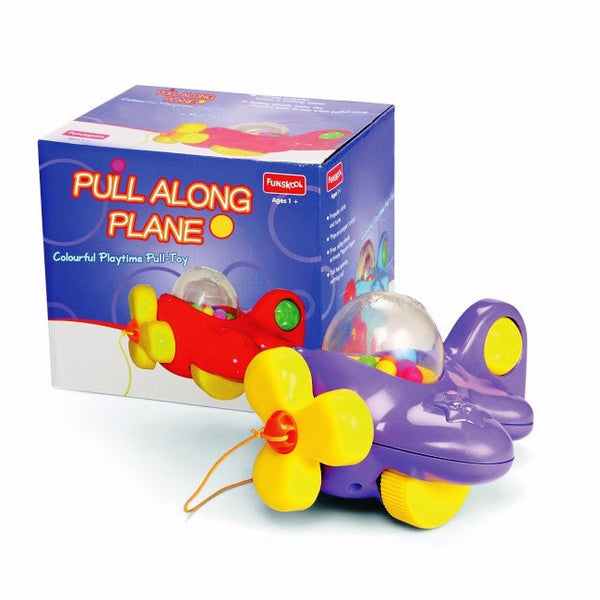 Pull Along Plane Toddler Toy