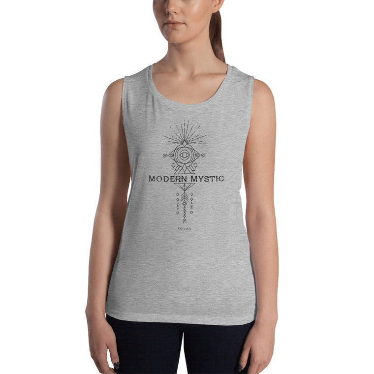Ladies' Soft Muscle Tank | Modern Mystic