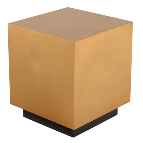 DESYRE SIDE TABLE GOLD - END TABLE