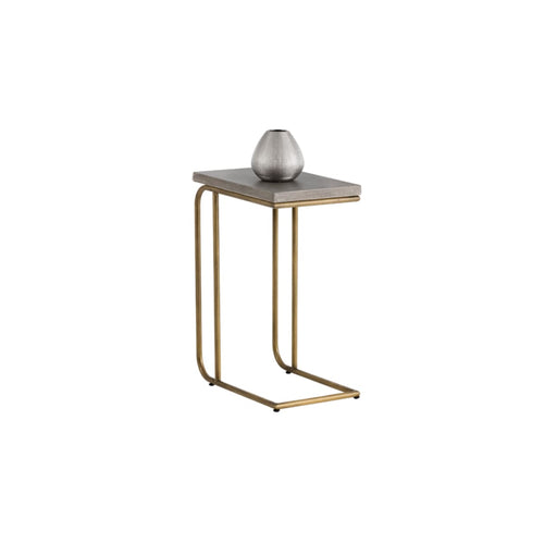 RENFIELD C SHAPED END TABLE - End tables
