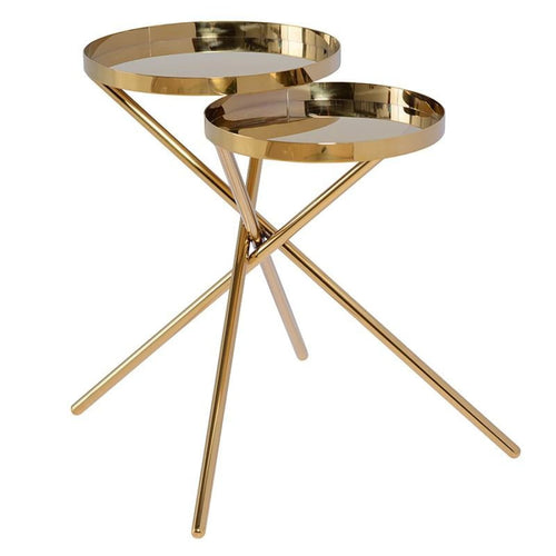 TAYTE SIDE TABLE GOLD - End Table