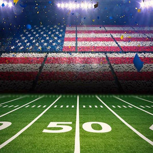 Football Background Green Backdrops G-366