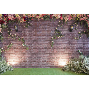 Brick Wall Backdrops Photography Backgrounds Flowers Backdrops G-516