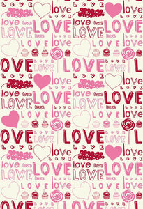 Patterned Backdrops Backdrops Hearts Backgrounds Love S-2648