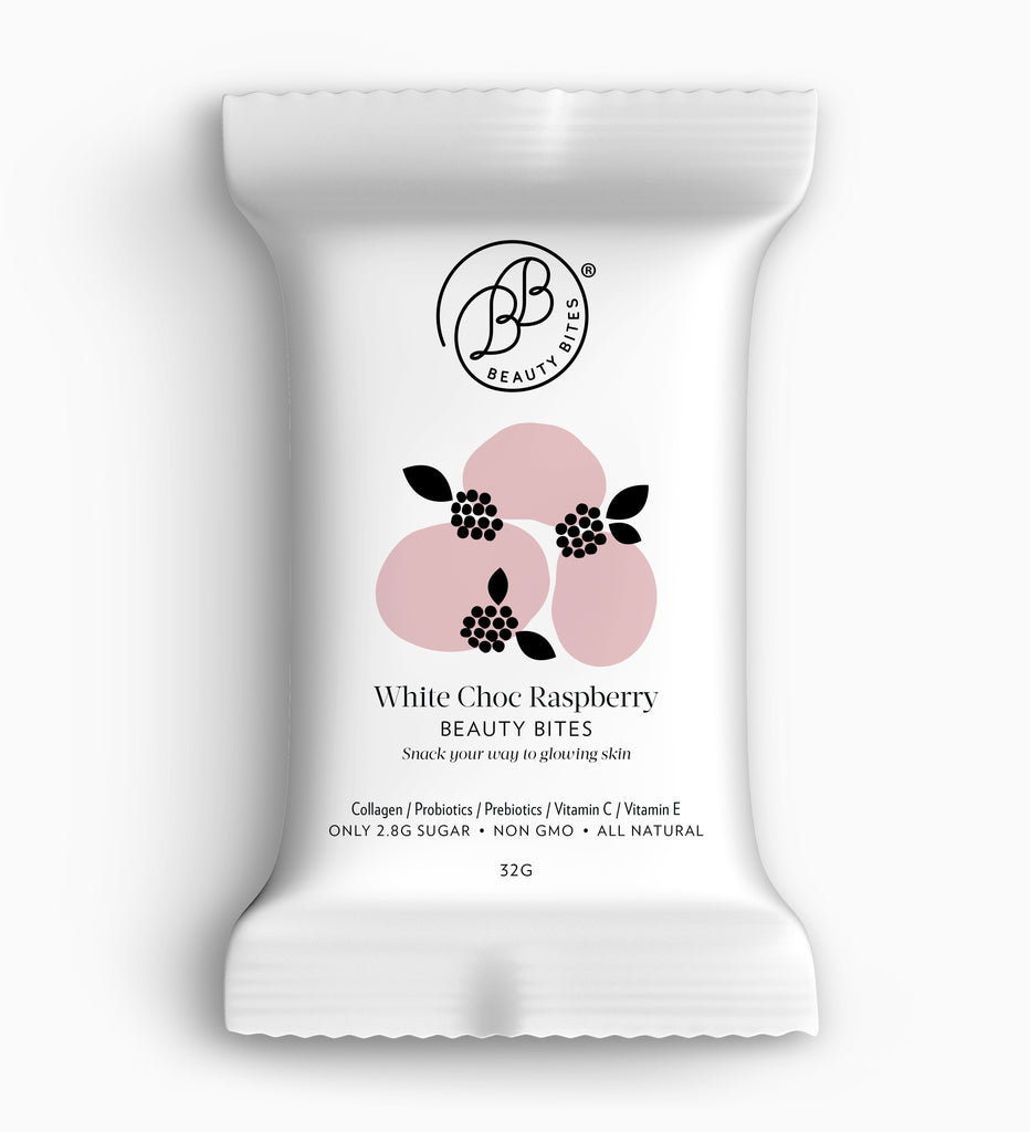 White Chocolate Raspberry Beauty Bites®