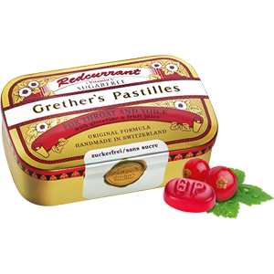 Grether's Pastilles Redcurrant 3.75oz Sugar Free