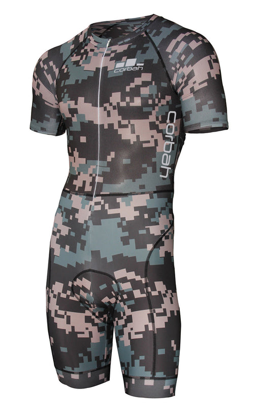 The Weekend Warrior Digital Camo XC Cycling Racesuit