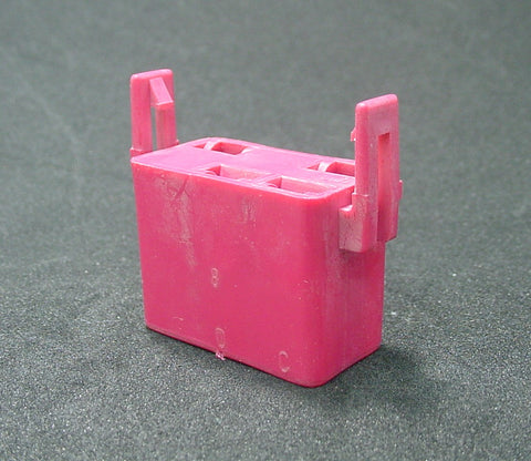 4 Way Terminal Housing With Latch Female Red Delphi Packard, Terminal Housing, Connector Housing, 56 Series 12004338