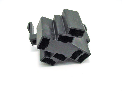 7 Way Terminal Connector Female Black Delphi Packard 56 series