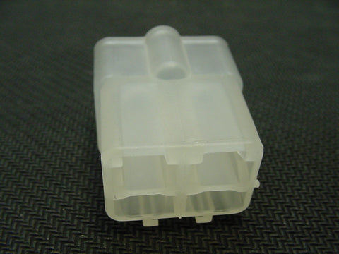 4 Way Terminal Housing Male Clear Delphi Packard, Terminal Housing, Connector Housing, 56 Series 02977049-B