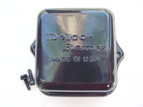 Pontiac 1964-1972 Delco-Remy Embossed Voltage Regulator Cover