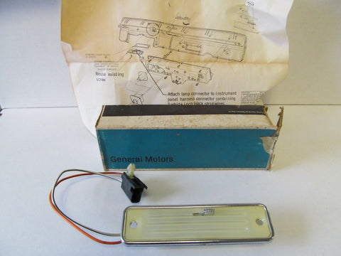 Buick, NOS, Dash, Map Light Package, 981138
