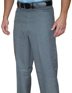 BBS378HG-Smitty Flat Front Base Pants-Heather Grey Only