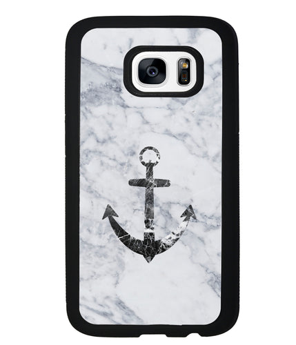 Marble Anchor | Samsung Phone Case