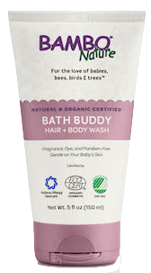 bambo nature bath buddy hair and body wash