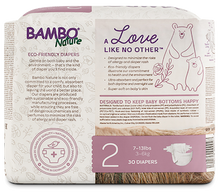 bambo nature baby diapers size 2 back