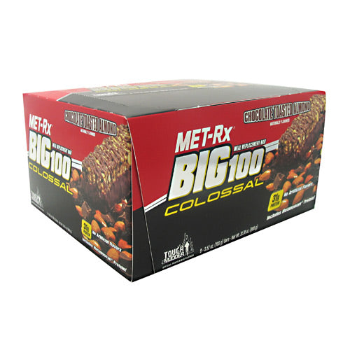 Met-Rx USA Big 100 Colossal - Chocolate Toasted Almond - 9 Bars - 786560557047