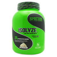 Species Nutrition Isolyze - Vanilla Ice Cream - 44 Servings - 855438005659
