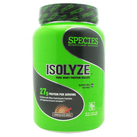 Species Nutrition Isolyze - Chocolate Milk - 22 Servings - 855438005604