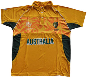 Australia WC 2011 Cricket Supporter Shirt