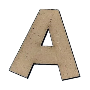 Wood Letters - ''A'' (Two Pack)