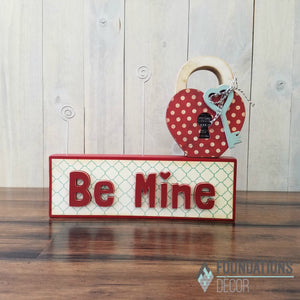 """Be Mine"" word only"