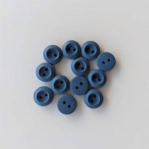 Buttons - Blue, 12 Small