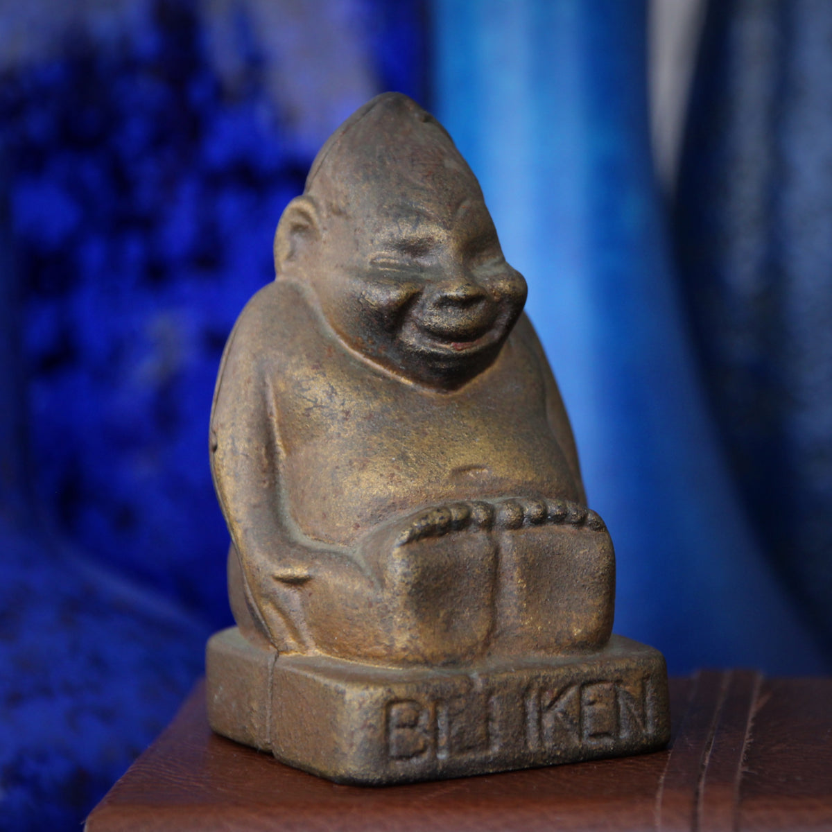Cast Iron Billiken Bank