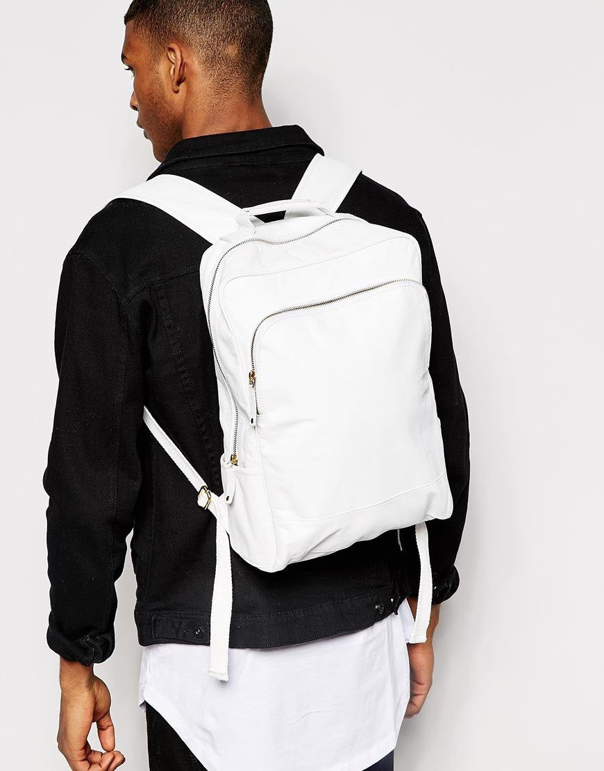 Jacquard ethnic backpack