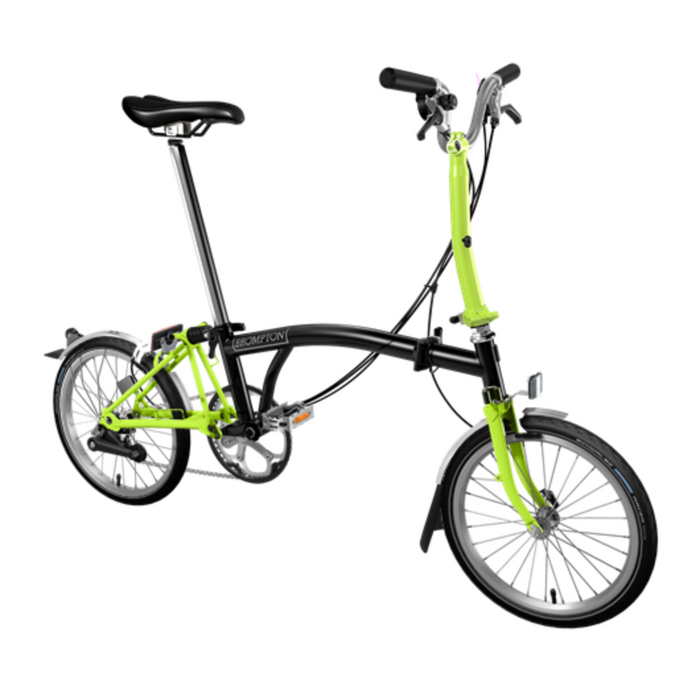 Brompton M6L 2019 - Black/Lime Green