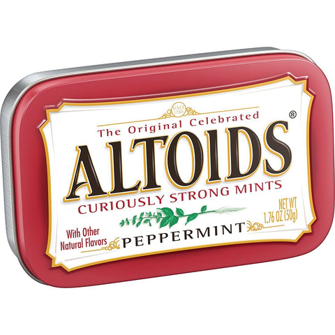 Altoids Mints - Peppermint - Plus Candy